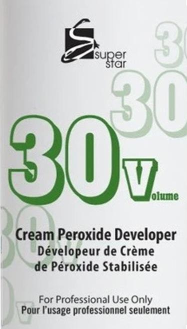 Super Star Gallon 30 Volume Cream Peroxide Developer