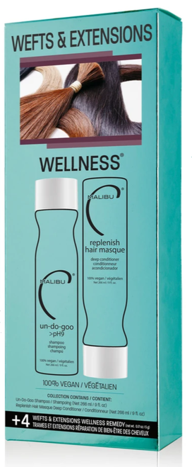 Malibu Weft and Extensions Wellness Collection