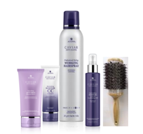 Alterna MAY JUNE Transform You Blow Outs Box Deal with Free Brush