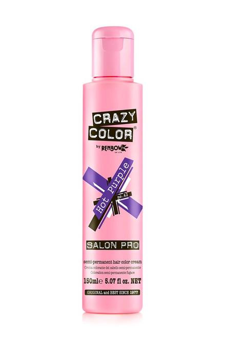 Crazy Color Hot Purple #62 5.07oz/150mL
