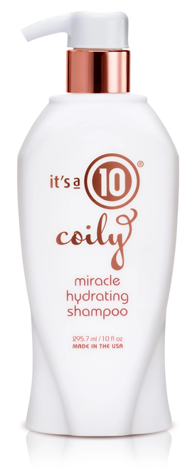 Its a 10 Miracle Coily Shampoo