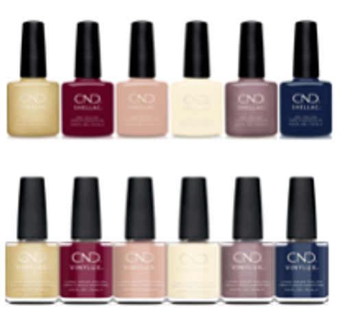 CND Shellac & Vinylux Holiday