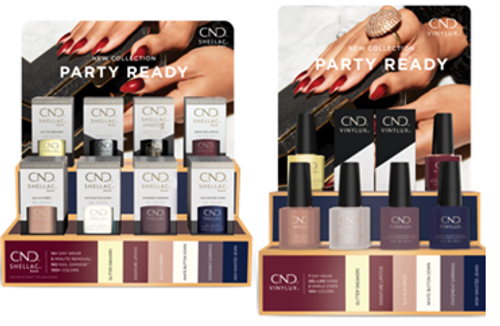 CND® Shellac® & CND® Vinylux® Party Ready Pop Displays