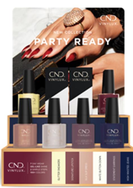 CND® Vinylux® Party Ready Pop Display