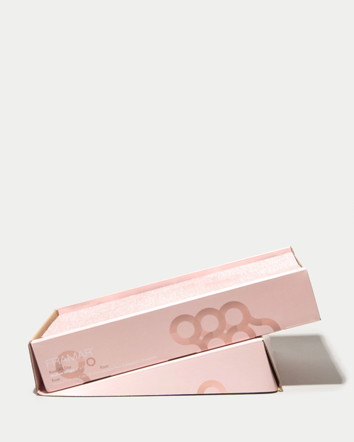 Framar Foil Pre-Cut Embossed Medium Rose Gold 5 x12 500Sheets