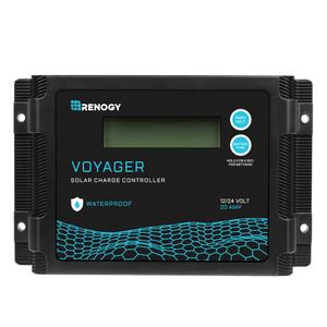 Regulador de Carga Solar PWM Impermeable Voyager 20A