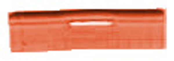 Burnt orange piping/welt