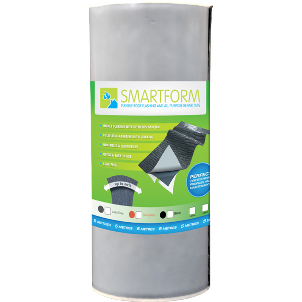 Smartform flexible roof flashing and all purpose repair tape.