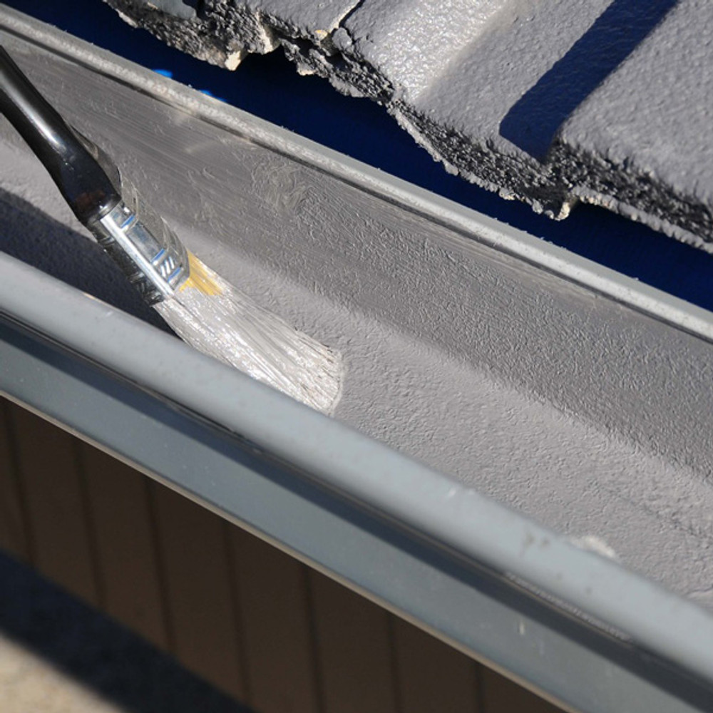 Fastfix Wet Shield is a one coat brush, roller or squeegee application.