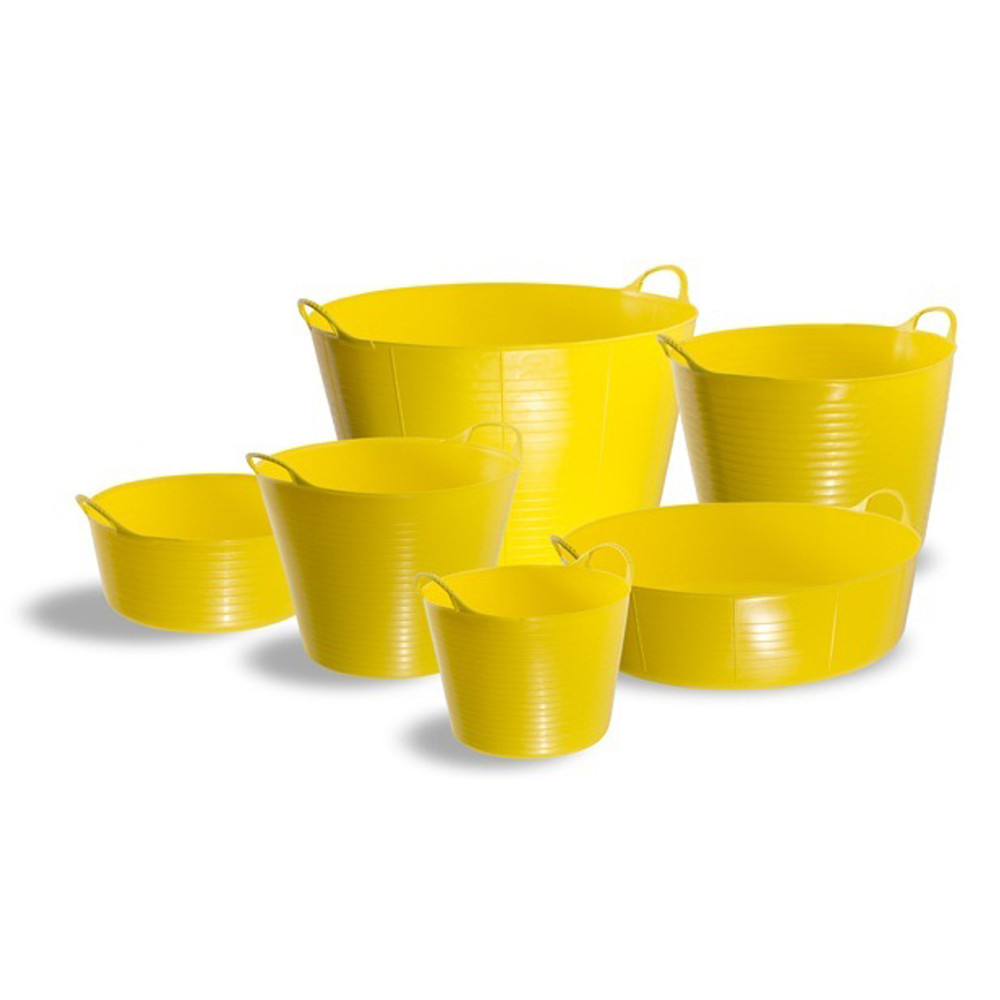 Gorilla Tubs Range Yellow.