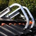 Ladder Roof Hooks have a big arc to suit all roof pitches.