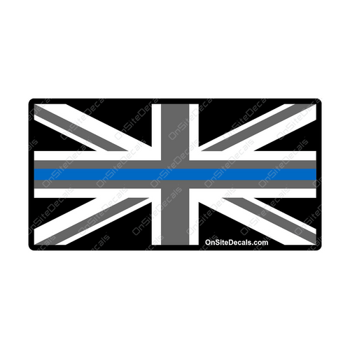 Blue Line UK British Flag