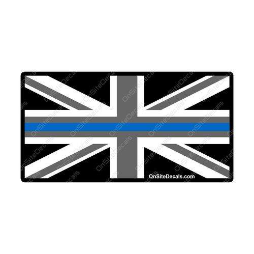Blue Line UK British Flag
