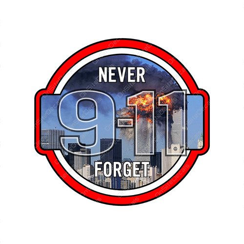 9-11 Never Forget Decal