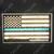 Blue Line American Flag Decal