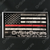 Red Line OnSiteDecals American Flag Decal