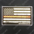 Red Line American Flag Decal