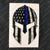 Blue Line American Flag Spartan Helmet Decal