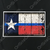 Blue Line Texas Flag Decal