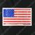 Distressed Look American Flag Decal