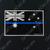 Blue Line Australian Flag Decal