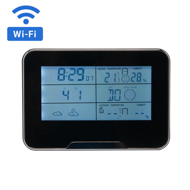 1080P HD WiFi Streaming Weather Station Hidden Camera
