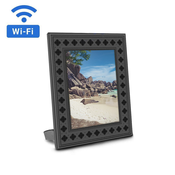 720P HD WiFi Streaming Photo Frame Hidden Camera with Night Vision
