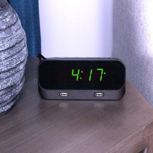 Alarm Clock WiFi Hidden Camera