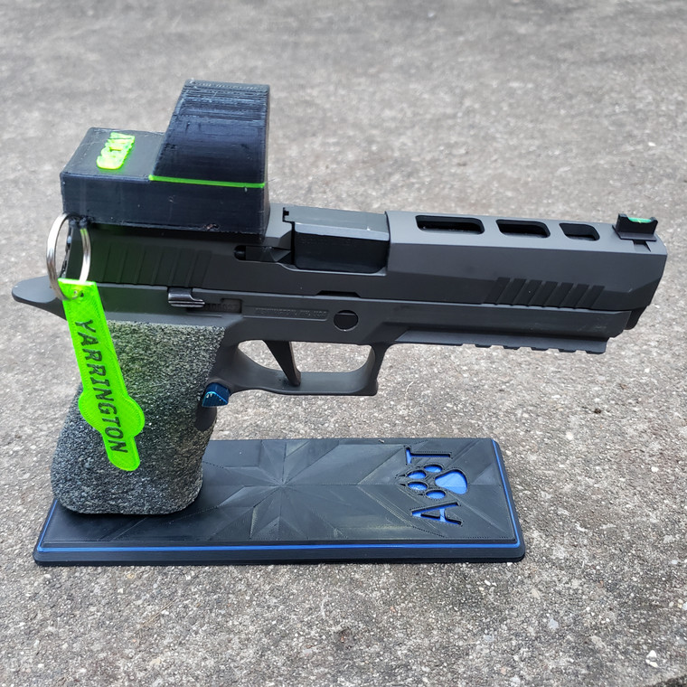 Display Stand for Double stack 9mm Pistol