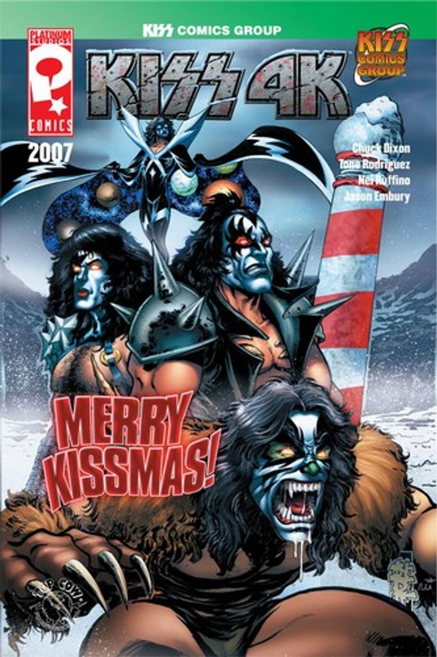 Image Top Cow Comics Kiss 4K NM-//M 2007