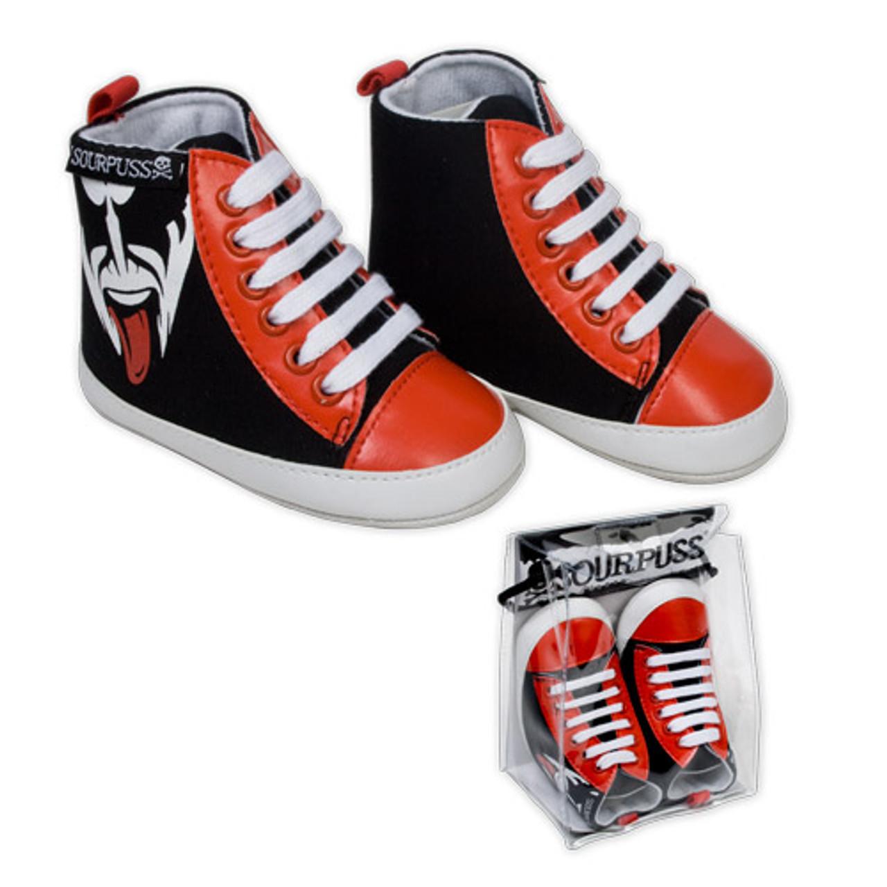 sale retailer a962d 3087c KISS Demon Baby Shoes