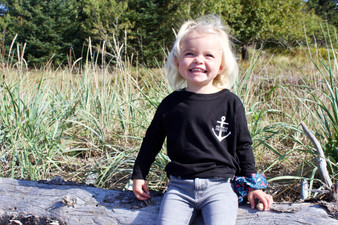 For Life on the Water Kids Long Sleeve