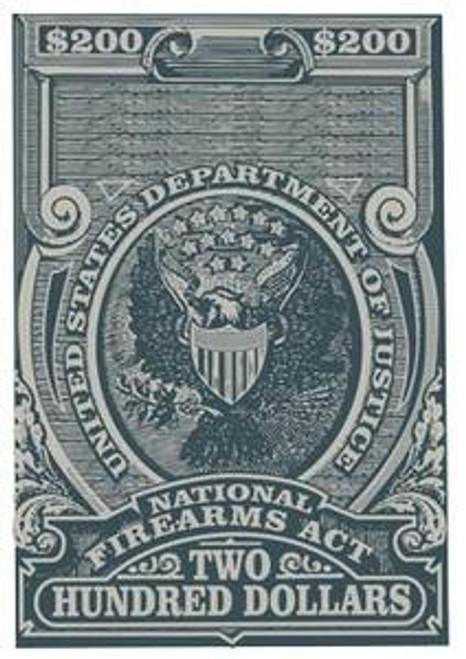 NFA Transfer Tax Stamp
