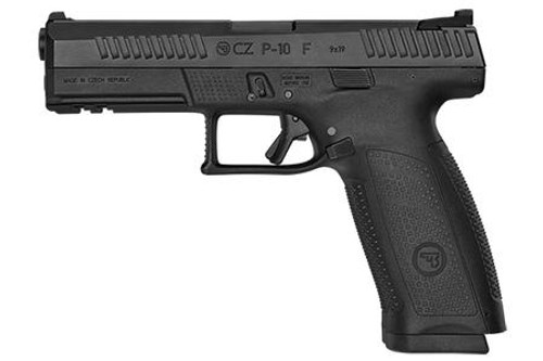 CZ P10 F 9MM Black 19rd - Black