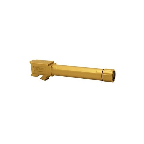 True Precision | Glock 19 Threaded Barrel - TiN
