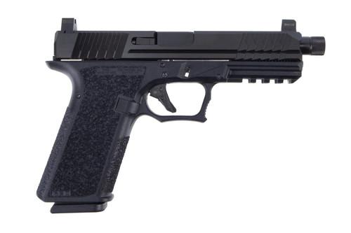 Polymer80   PFS9 Full Size 9mm Pistol W/Threaded Barrel & Night Sights - Black