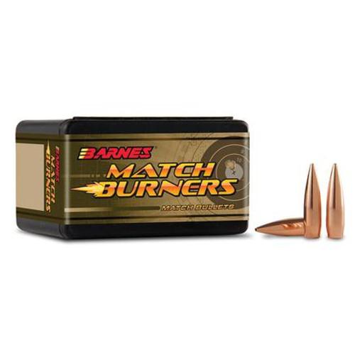 "Barnes   Match Burners Rifle Bullets 6.5mm/.264"" 120gr BT Match - 100ct-"