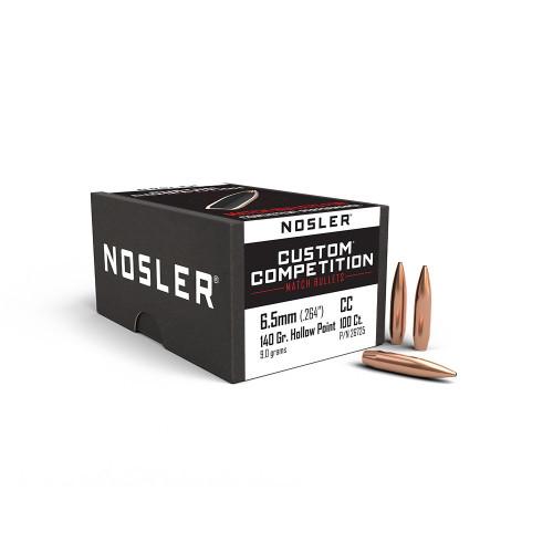 Nosler   Custom Competition 6.5mm 140gr HPBT - 250ct