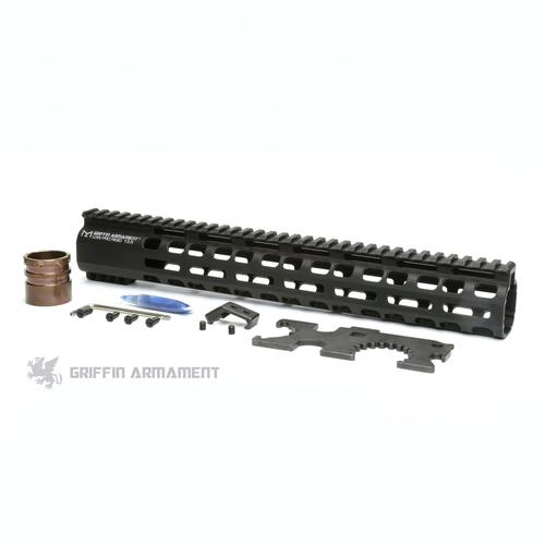 """Griffin Armament   Low Pro Rigid MLok Rail - 13.5"""""""
