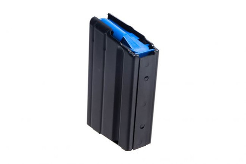 C Products | 6.5 Grendel Stainless Steel Magazine w/Blue Follower - 5rd