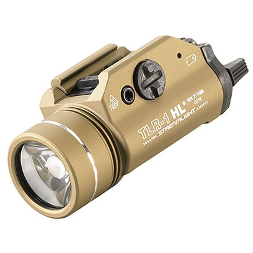 Streamlight | TLR-1 HL 1000 Lumen Weapon Light - FDE