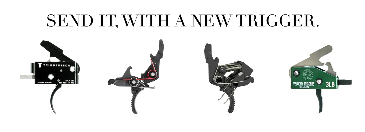 AR15 Triggers, Drop In Trigger, TriggerTech, Hiperfire, Velocity Triggers,