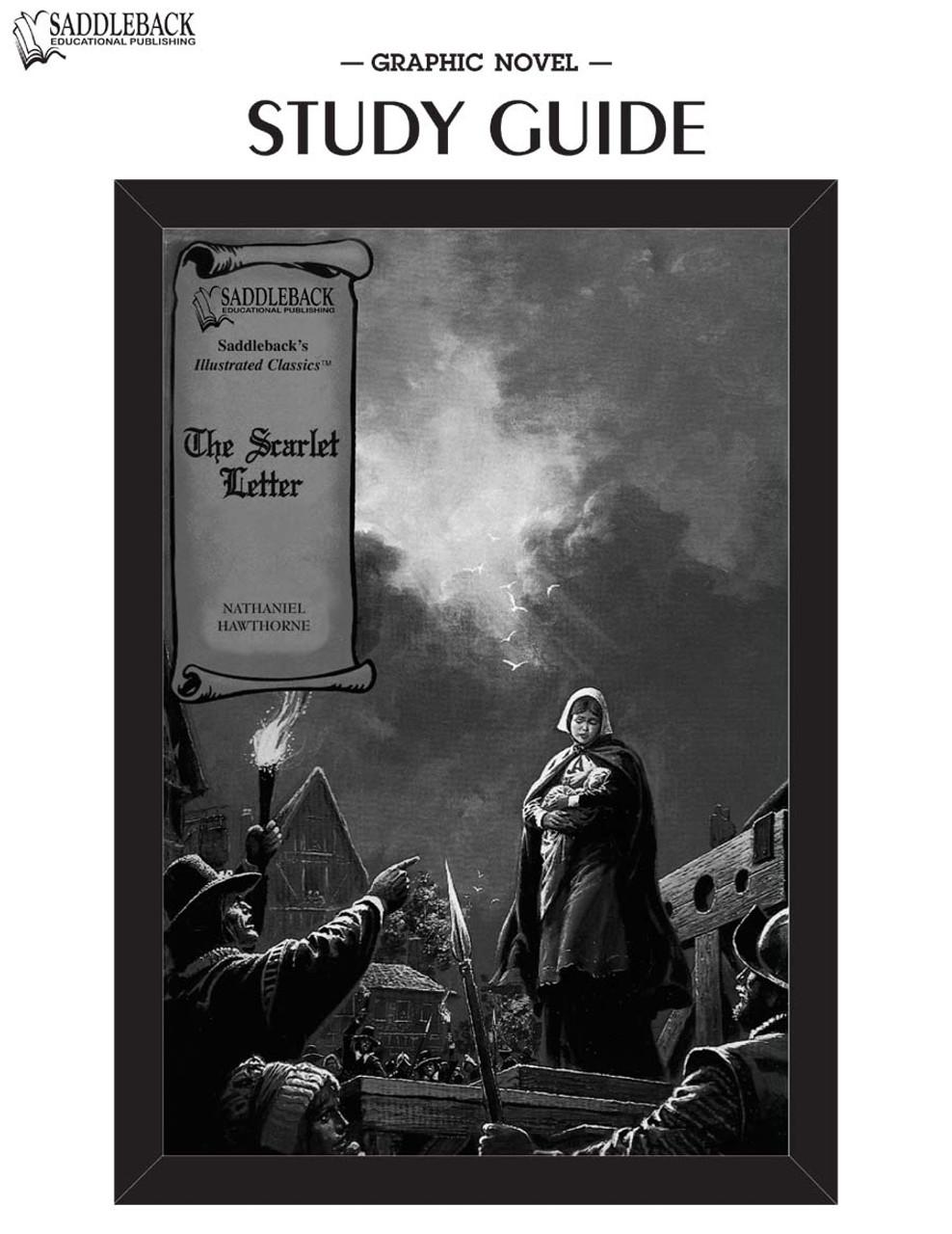 The Scarlet Letter Graphic Novel Study Guide - SADDLEBACK - 9781602916524