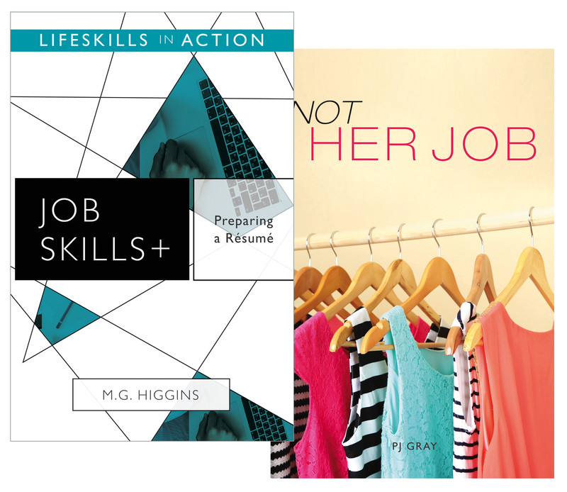 preparing a resume for a job