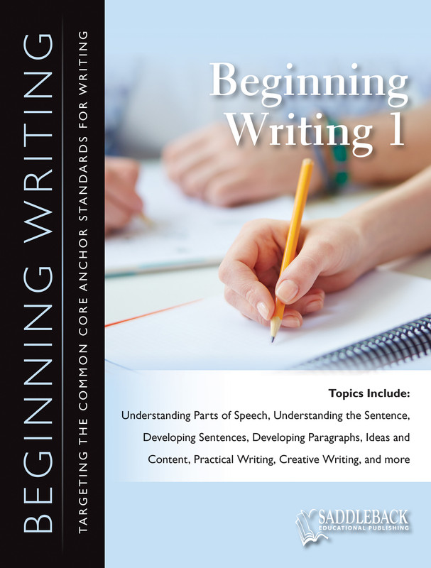 Beginning Writing 1 (Digital Download)