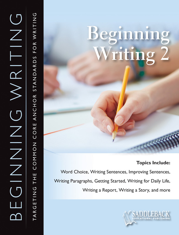 Beginning Writing 2 (Digital Download)