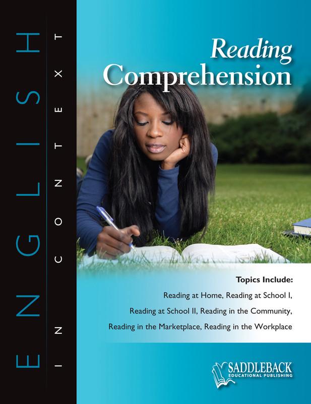 Reading Comprehension (Digital Download)