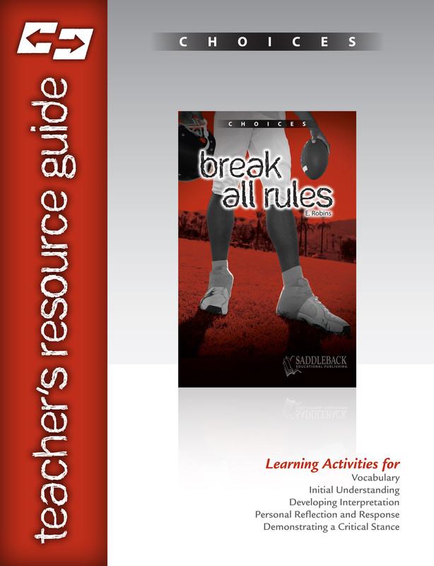 Break All Rules Teacher's Resource Guide (Digital Download)