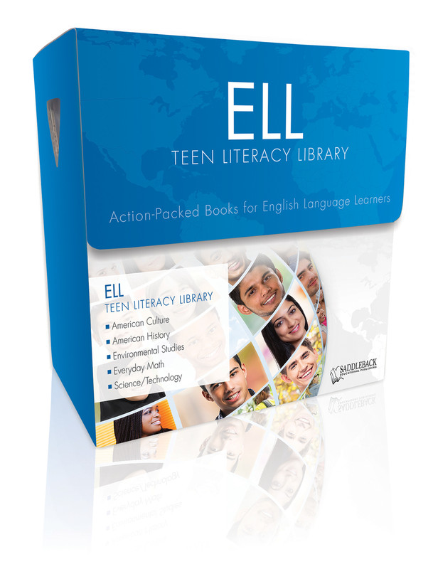 ELL Teen Literacy Library (3 each of 20 titles, 100 Vocab Cards + TG)