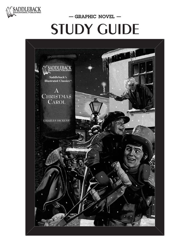 A Christmas Carol Graphic Novel Study Guide (Digital Download)